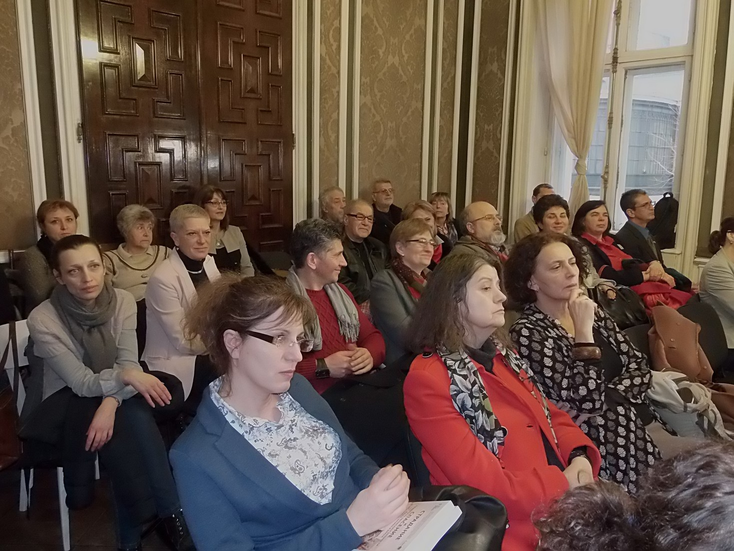 "The first public presentation of the book ""Anguish and Salvation. The Memory of the Jewish Communities in Rousse, Shumen and Varna"", held in Sofia Institute of Ethnology and Folklore Studies with Ethnographic Museum – BAS"