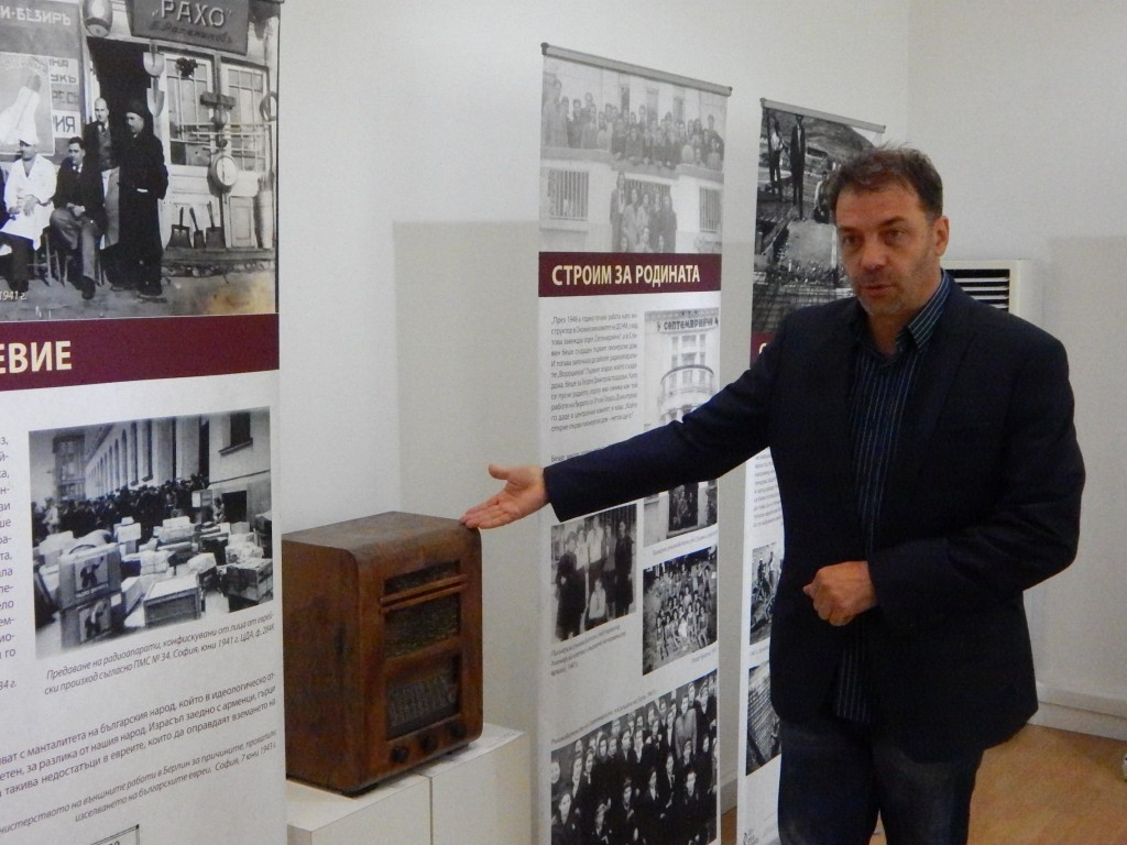 The curator Prof. Dr. Nikolay Nenov about one of the most interesting exhibits - radio Bralt